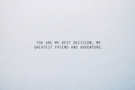 Best Decision Love Card Anniversary Card Card for by RustandIvory