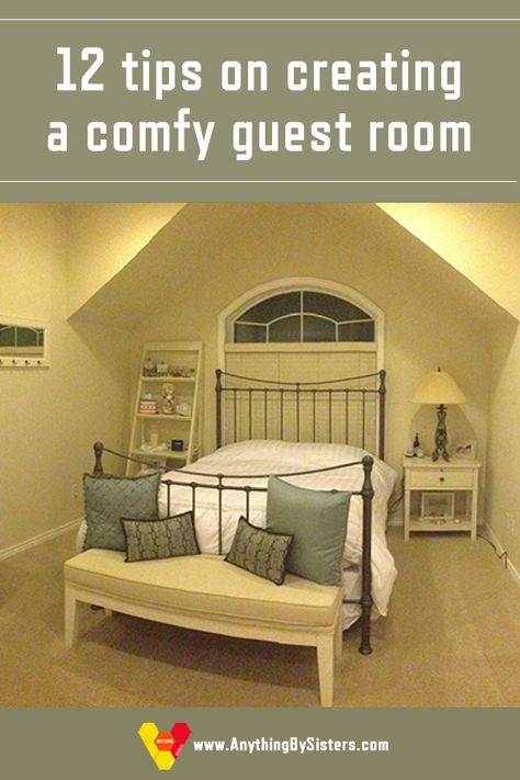 Tips on creating a comfy guest room for your guests