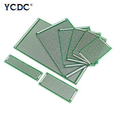 5//10Pcs One//Duel Side PCB Printed Circuit Prototype Board Universal Breadboard