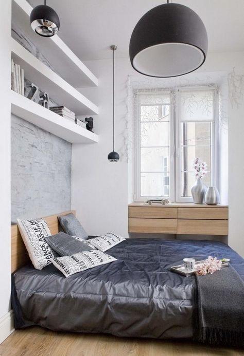 Schlafzimmer mit Dachschräge gestalten + Tapeten peppen das - einrichtungsideen schlafzimmer betten roche bobois