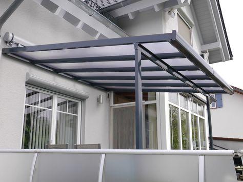 Neu Terrassendach & Carport - Bausatz Typ A - 3000x3000mm - WEISS  WO26