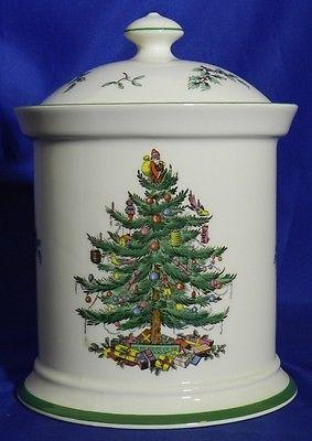 Spode Christmas Tree Cookie Jar | Biscuit and Cookie Jars ...