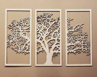 Decorative Wall Panel Is Made Of
