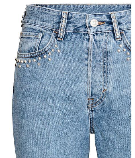 newest style of exclusive deals good out x Vintage High Jeans | Light denim blue | Women | H&M US | 청 ...