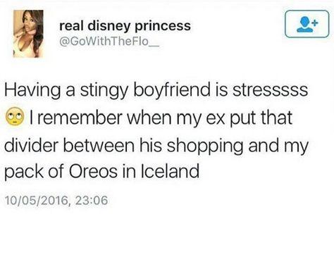 Stingy Boyfriend Boyfriend Scrapbook Real Disney Princesses Boyfriend