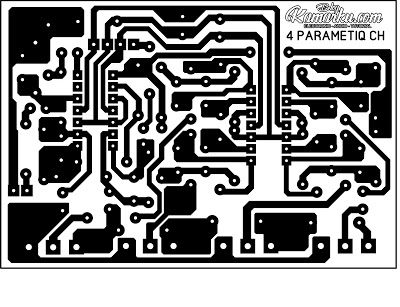 Membuat Parametiq Equalizer Apex 4 Chanel Rangkaian Elektronik Arduino Elektronik