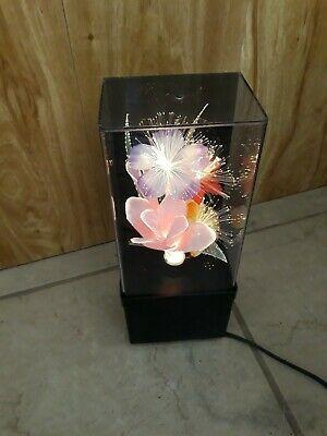 Ad Ebay Url Vintage Fiber Optic Color Changing Flower Light Lamp Beautiful In 2020 Flower Lights Lamp Light Flower Lamp
