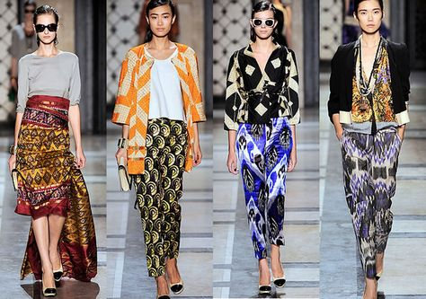 Two years ago when I first sat eyes Dries Van Noten Spring Summer 2010 collection, I immediately fell in love. The styling was effortless. T...