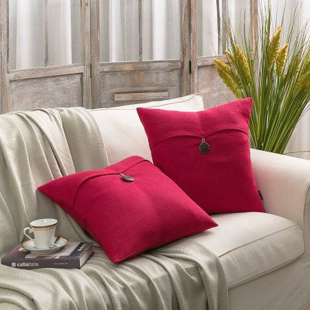 Home Throw Pillows Living Room Decorative Pillows Couch Red