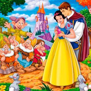 Cuento De Blancanieves Y Los 7 Enanitos Completo Con Imágenes Blancanieves Enanos De Blancanieves 7 Enanos