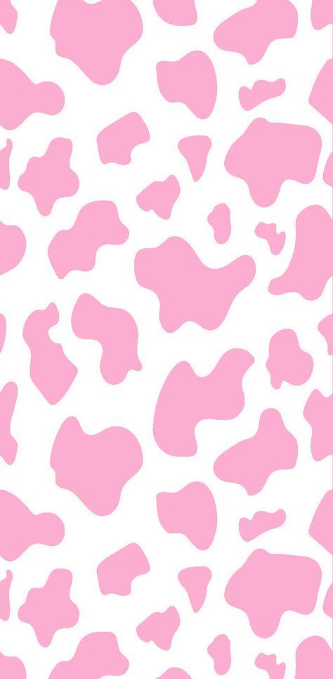 #pink #aesthetic #wallpaper #lockscreen #cow #cute #iphone #freetoedit