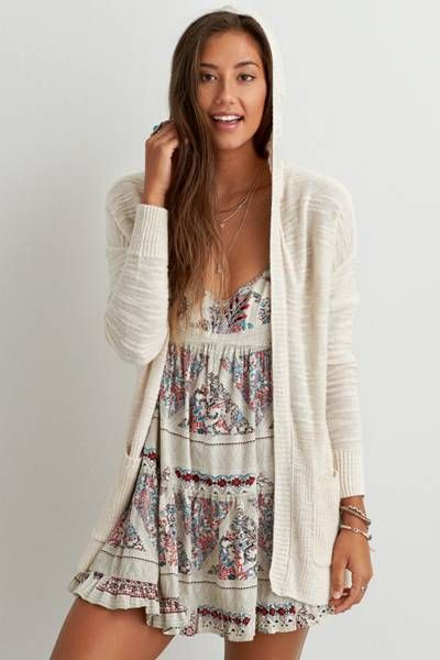 AEO Textured Hooded Cardigan by AEO | The perfect sweater to ...