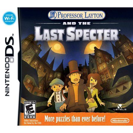 Professor Layton And The Last Spector Ds Walmart Com Professor Layton Nintendo Ds Ds Games