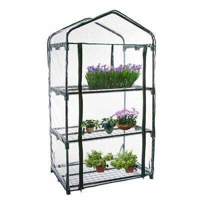 Greenhouse Mini Outdoor Growbag Growhouse Green House Pvc Cover Plastic Garden Ebay In 2020 Household Plants Greenhouse Cover Greenhouse