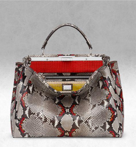 31215238f27a Fendi Spring Summer 2014 Peekaboo bag   Fendi   Valise и Accessoires