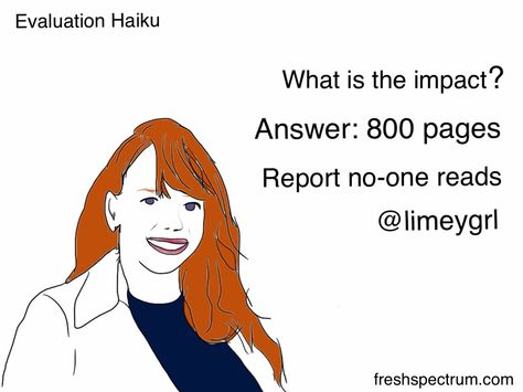 Want your tweets unique, try writing them in Haiku, here is a - program evaluation