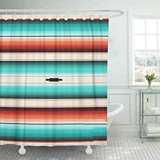 Amazon Com Bathroom Boho Shower Curtain Sets Shower Curtains