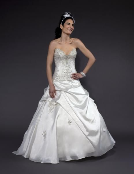 possibly my future gown!!!! a little bit princess and love the halter!! 298262f83
