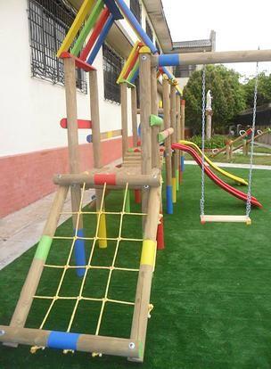 SPYD-PARQUES, Parques Infantiles de Madera, Barranquilla   Juegos ...