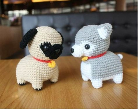 Amigurumi Dog Free Crochet Patterns - Amigurumi.world - YouTube | 374x473