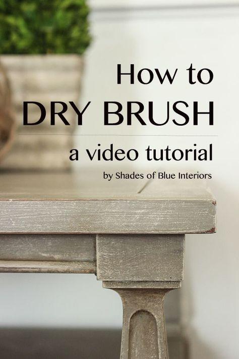 Video Tutorial: How to Dry Brush