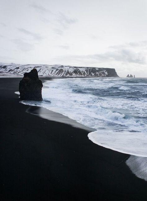 Road Trip nach Island und zurück - Plage de sable noir - Vik, Dyrholaey - #de #Dyrholaey #Island #nach #noir #Plage #Road #sable #Trip #und #Vik #zurück
