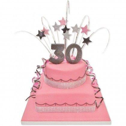 Big Number Birthday Cake