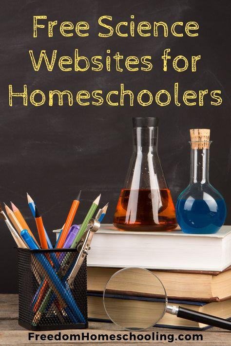 Science Websites for Homeschoolers | Freedom Homeschooling
