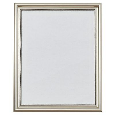 Three Posts Hubbert Picture Frame Size 11 X 14 Color Silver Picture Frame Decor Picture Frames Wood Picture Frames