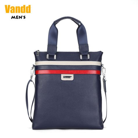 Aliexpress.com : Buy Vandd Men's Blue Genuine Leather Striped Vertical Slim Tote Handbag Daily Shoulder Messenger Bag Designer Style New Arrival from Reliable man fashion bag suppliers on Vandd Men. $75.00