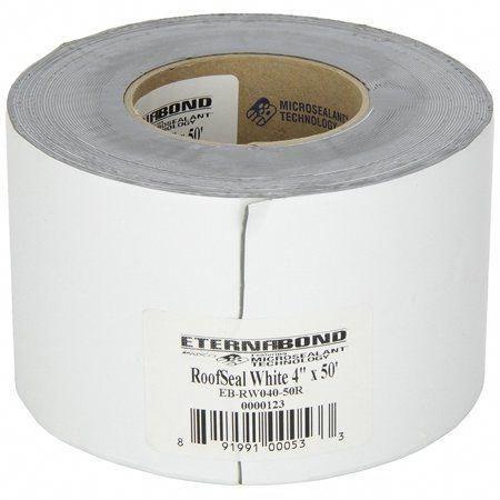 Eternabond Rv Rubber Roof Repair Tape 4 X 10 Roll White Walmart Com Rv Roof Repair Camper Repair Roof Repair