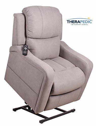 Therapedic Lift Chair Lift Recliner By Articulating Headrest Gel