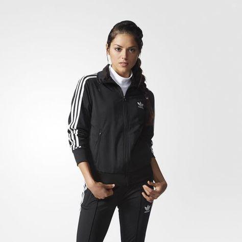 new style 10bab 972ac adidas Firebird Track Jacket - Black   adidas US