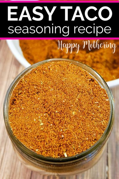 Homemade Taco Seasoning Recipe Recipe Taco Seasoning Recipe Homemade Taco Seasoning Recipe Seasoning Recipes
