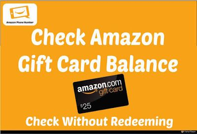 Amazon Gift Card Balance Check Without Redeeming Amazon Gift Card Balance Check Without Redeeming The Amazon Gift Card Balance Gift Card Amazon Gifts