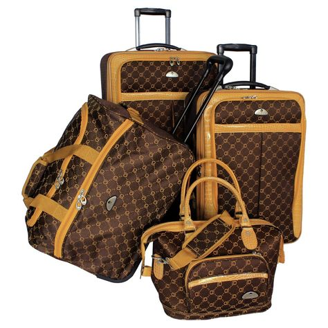 Looking for American Flyer Luggage Signature 4 Piece Set, Chocolate Gold, One Size ? Check out our picks for the American Flyer Luggage Signature 4 Piece Set, Chocolate Gold, One Size from the popular stores - all in one. Sacs Louis Vuiton, Louis Vuitton Bags, Fall Handbags, Purses And Handbags, Cheap Handbags, Zulu, Luggage Reviews, Sacs Design, Cute Car Accessories