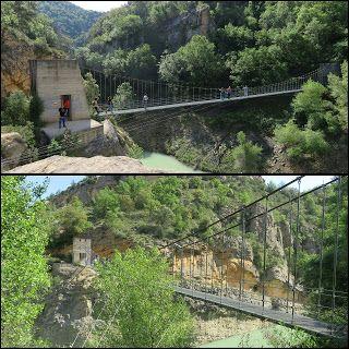 Rutas Con Los Peques Huesca Rutas Vistas Puente Colgante