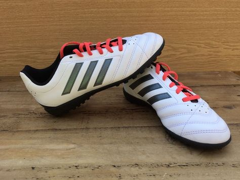 Adidas Messi 16.3 TF J Junior Boy/'s Astro Turf Football Shoes Trainers Red White