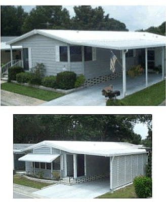 9 Innovative Mobile Home Improvement Ideas That You Can Do! | Store, Porch  and House