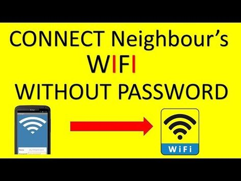 How To Connect Nearby Wifi Without Password In Mobile Youtube
