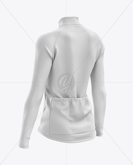 Download Women S Cycling Thermal Jersey Ls Mockup Back Half Side View In Apparel Mockups On Yellow Images Object Mockups Clothing Mockup Mockup Free Psd Psd Mockup Template