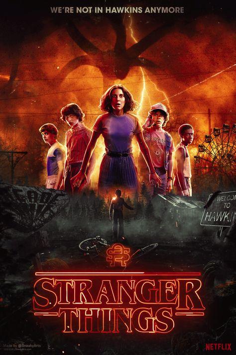 Stranger Things 4   By SneakyArts - PosterSpy