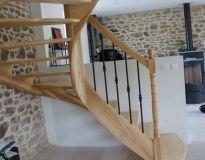 Escalier Frene Debillarde Avec Images Escalier Deco Maison