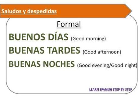 Using common Spanish greetings and farewells in simple ... |Spanish Greetings And Good Byes