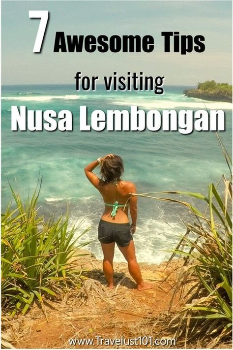Looking for a beach vacay on your next Bali trip? Known for some of the best beaches in Bali, Nusa Lembongan island is a paradise destination you don't want to miss on your Bali itinerary. Check out these 7 awesome tips on Devil's Tear, Dream Beach, Snorkeling tours, and more to create your epic Bali vacation in Nusa Lembongan! Bali Travel | Bali Guide | #nusalembongan #bali #balibaby #paradise #bestbeaches #bestvacation