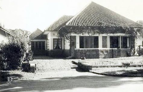 Rumah Di Jalan Bengawan 44 Bandung Sekitar 1935 Bandung Tempo