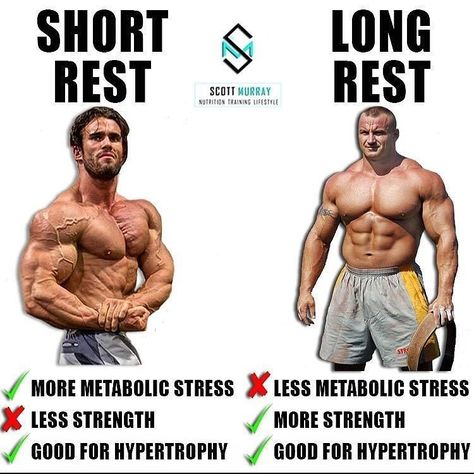 gymrat Rest periods 101 by...