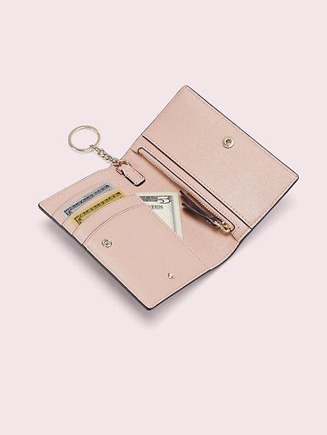 Ladies  Women Metal Trim Clip Top Purse Multiple Interior Card Slots Wallet UK