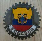 Automobile Car Truck Vintage Antique Grille Ecuador Emblem #VintageParts