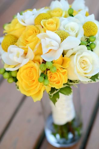 Yellow Wedding Flower Bouquet Bridal Flowers Add Pic Source On Comment And We Will Update It Myfloweraffair